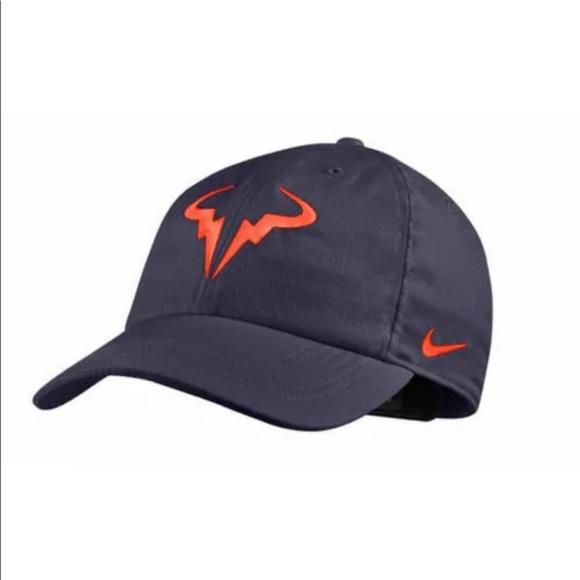 553bcd3715eb3 NIKECOURT AEROBILL RAFA H86 ADJUSTABLE TENNIS HAT. NWT. Nike